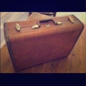 Antique Samsonite Hardcase Suitcase